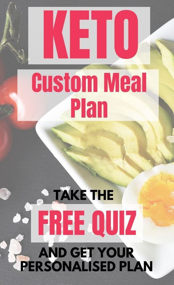 Keto Custom Meal Plan Free Quiz Get Your Personalized Plan In 2020 Custom Meal Plans Ketogenic Diet For Beginners Ketogenic Diet Meal Plan