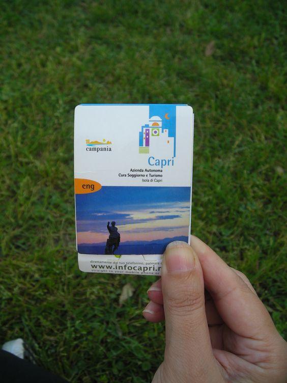 Editoria / Azienda Soggiorno e turismo isola di Capri   Matilde ...