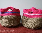 Crochet bag pattern crochet handbag pattern vintage by LuzPatterns