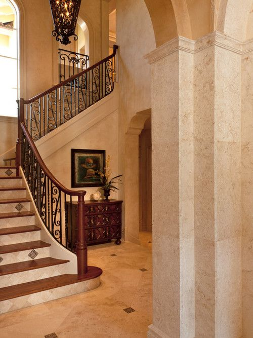 Traditional Hallway Traditional Traditional American Unit Staircase