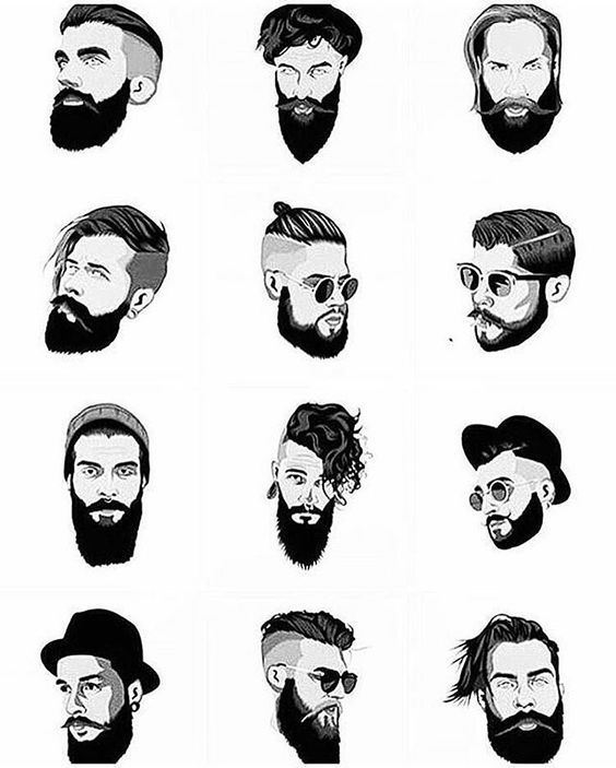 Guide Absolutely All Men Hair Types You Need To Know Hair And Beard Styles Beard Styles Mens Hairstyles With Beard