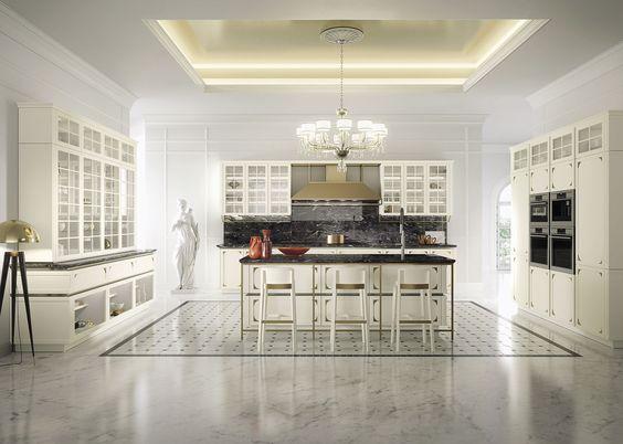 Lackierte Zeilen- Küche ohne Griffe IDEA by Snaidero Design - küche ohne griffe