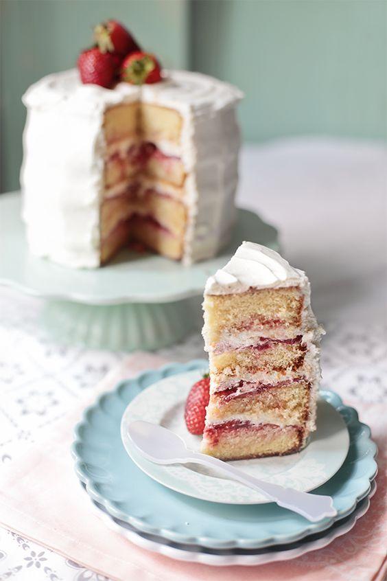 tarta de fresas y nata-2: