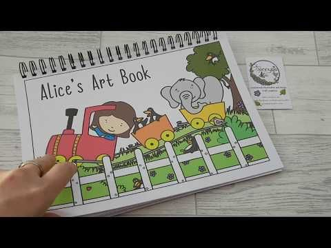 Personalised Colouring Book Youtube Personalized Coloring Book Coloring Books Personalize Art