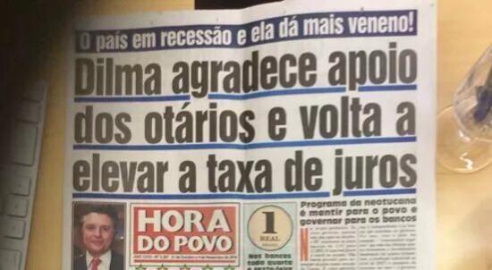 Post  #FALASÉRIO!  : O país já estava em recessão quando Dilma disse a ...