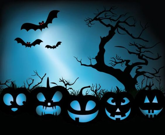 Pumpkin Halloween Vector Illustration, free download http://www ...