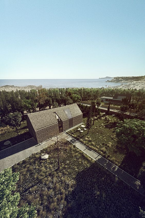 Shingle House on Behance https://www.behance.net/gallery/20782081/Shingle-House: