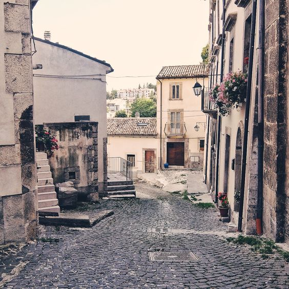 Street of Pescocostanzo