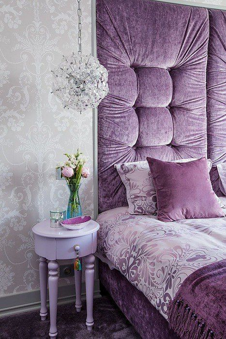 Cool Purple Decor