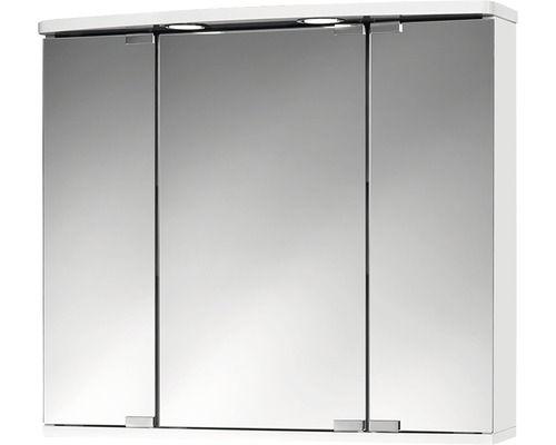 Spiegelschrank Jokey Doro Led Weiss 68x60 Cm Ip20 Spiegelschrank Led Spiegel