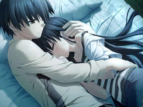 Pinterest the world s catalog of ideas - Anime boy hugging girl ...
