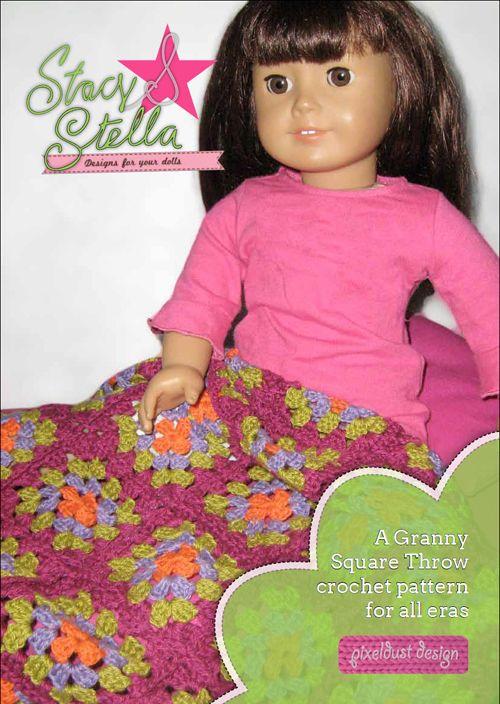 Free crochet pattern for American Girl Dolls