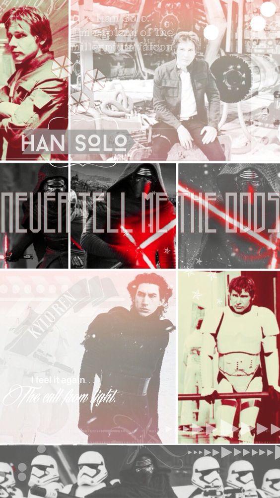 Han solo kylo ren iphone wallpaper star wars pinterest - Han solo wallpaper ...