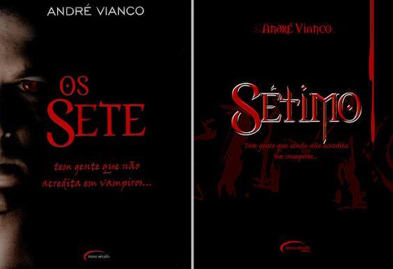 """André Vianco, constrói uma história repleta de personagens instigantes, transportando o leitor para um mundo, onde os verdadeiros assassinos carregam presas afiadas e tem medo do sol. """"Tem gente que não acredita em vampiros..."""""""