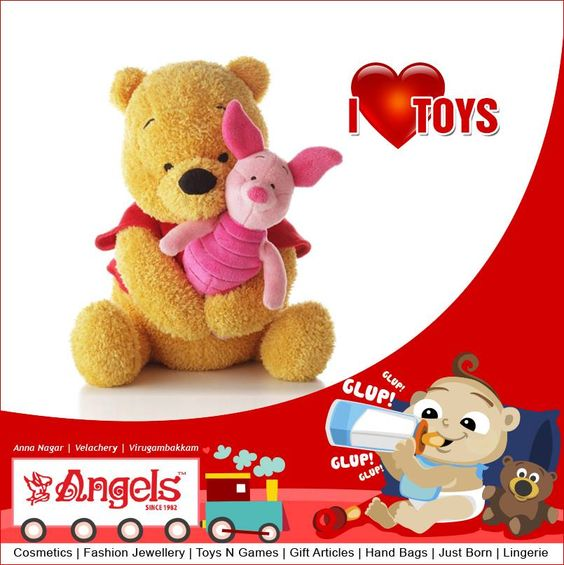 Happy Teddy Day...  Visit: www.angelsfamilystop.com  #MakeupTip #AngelsFamilyShop #Cosmetics #FashionJewellery #GiftArticles #HandBags #JustBorn #Lingerie #ToysNGames