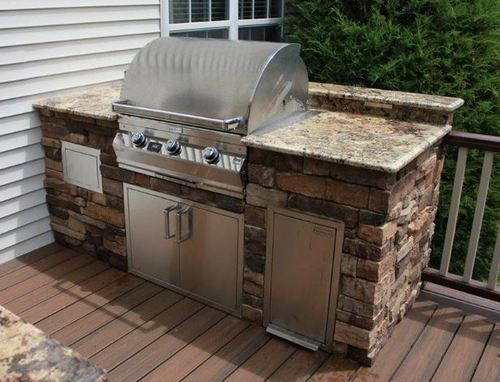 Diy Packages Build Your Own Alexandria In 2020 Outdoor Kitchen Kits Outdoor Kitchen Design Building A Deck