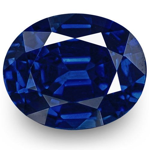 Gii Certified Nigeria Blue Sapphire 0 48 Carats Deep Intense Royal Blue In 2020 Blue Sapphire Sapphire Royal Blue