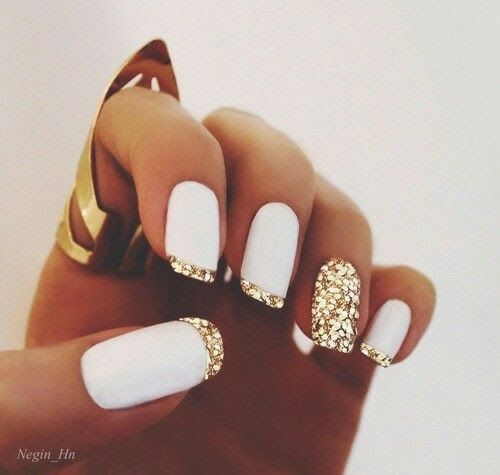 not a fan of the glitter tips, but the idea is great!!