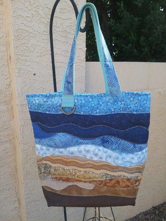 Quilted Beach Bag | Sew Cute! | Pinterest | Beach Bags, Beaches ...
