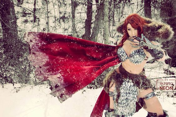 Red Sonja cosplay by Its-Raining-Neon on @DeviantArt