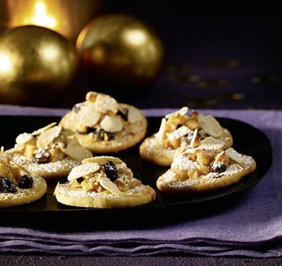 Bratapfel-Plätzchen - Süßes Kleingebäck mit Äpfeln und Marzipan zu Weihnachten