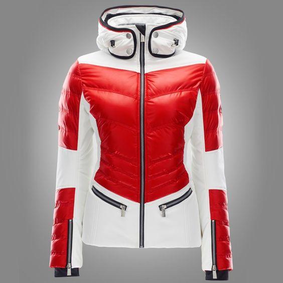Toni Sailer Ginger Jacket flame red