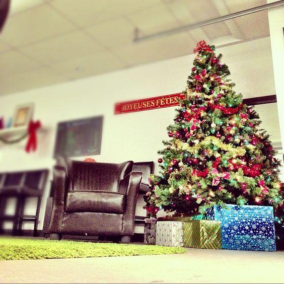 Le Père-Noël est attendu dans nos bureaux