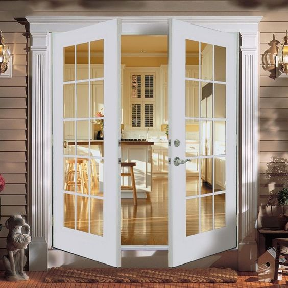Reliabilt french doors outswing doors pinterest for Storm doors for french patio doors