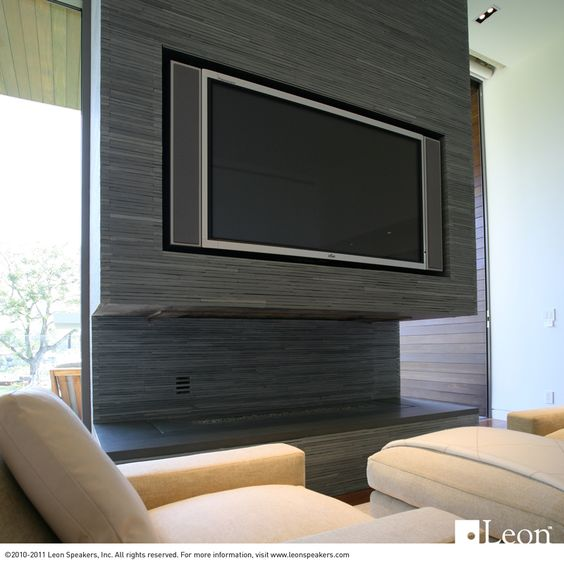 Leon Speakers with integration by Audio Command Systems, NY
