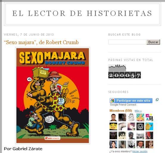 El lector de historietas