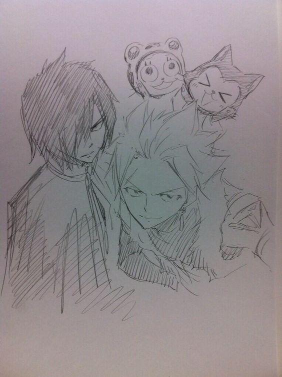 Rogue Sting Frosh Lector  #FairyTail #Anime #HiroMashima