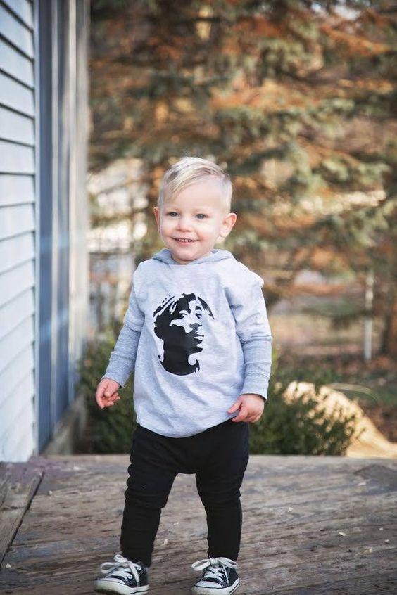 Tupac Toddler Tee bodysuit bebek sanat yürüyor tee gömlek rap hip hop müzik