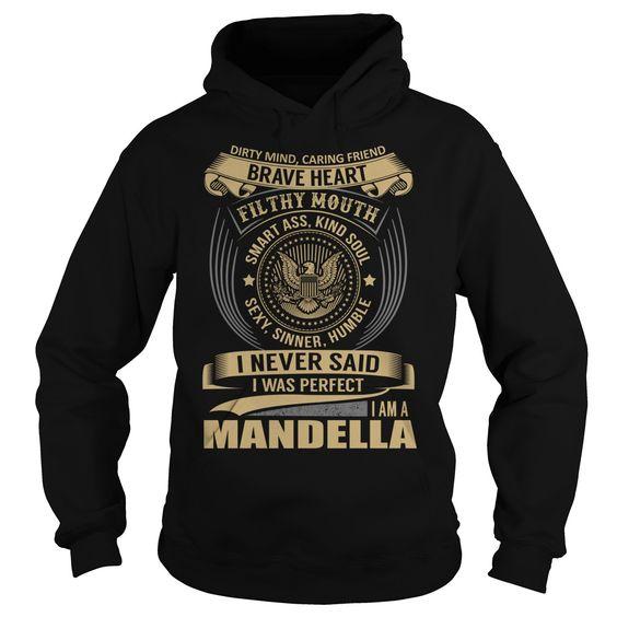 MANDELLA Last Name, Surname T-Shirt