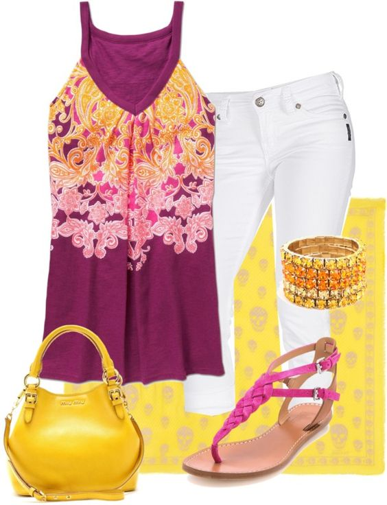"""Summer"" by disfan ❤ liked on Polyvore"