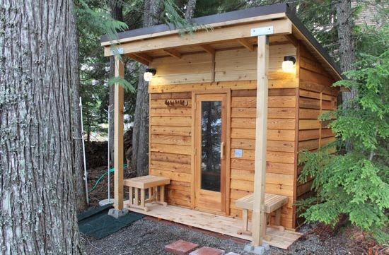 29 Crazy Diy Sauna Plans Ranked, How To Build A Outdoor Sauna