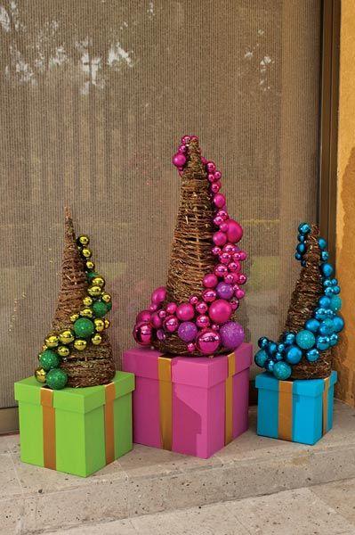 Arbolitos de vara para navidad c mo hacerlos paso a paso - Arbolito de navidad ...