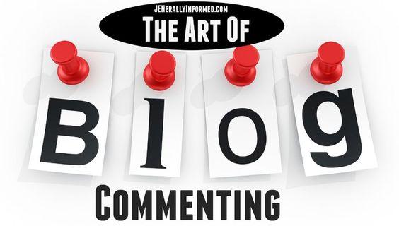 Jenerally InformedThe Art of Blog Commenting - Jenerally Informed