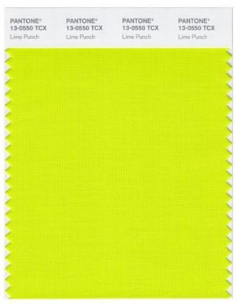 Pantone Lime Punch