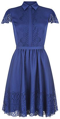 Temperley London Jacques Laser-Cut Dress