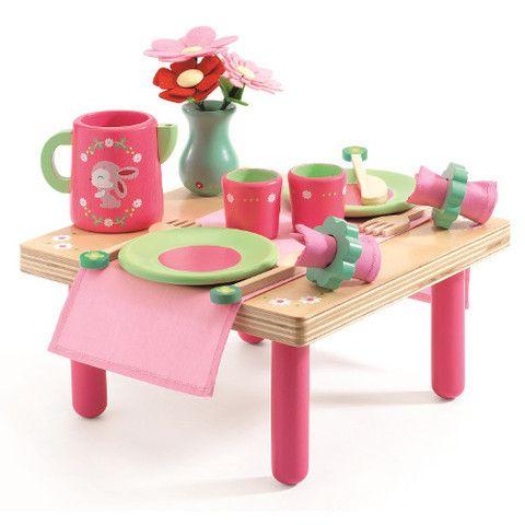 Djeco - Lilli Rose's Lunch Set