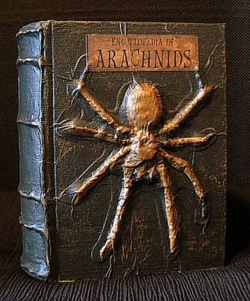Spooky Altered Books I will never do this, but it sure is interesting stuff to look at while I sit on the couch and eat chips....