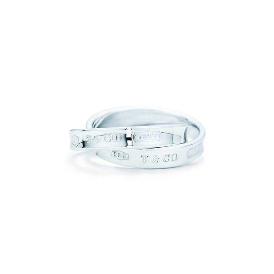 Tiffany 1837™ interlocking circles ring in sterling silver.