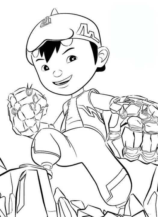 Printable Boboiboy Coloring Pages Free Coloring Sheets Cartoon Coloring Pages Coloring For Kids Coloring Pages