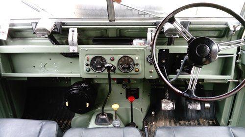 Land Rover Series IIA Interior