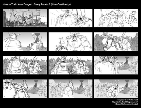 how_to_train_your_dragon_storyboard_justin_hunt_02 I like this - photography storyboard