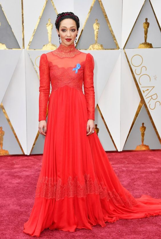 Image result for ruth negga oscars 17:
