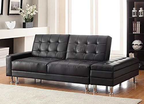 Westwood Modern Luxury Design Pu Sofa Bed With Storage 3 Seater Guest Sleeper Convertible Ottoman Fo Leather Sofa Bed Furniture