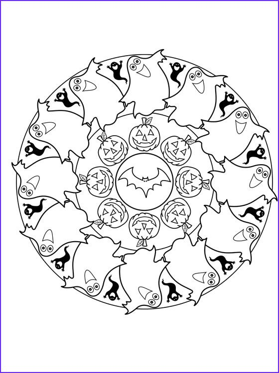 9 Cool Halloween Coloring Pages For Adults Image Coloring Page For Kids Halloween Coloring Pages Halloween Coloring Mandala Coloring Pages