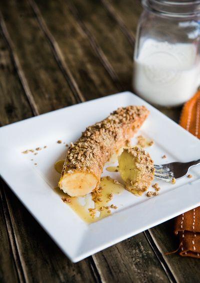 Banana roll- easy breakfast recipe.  Looks amazing!!!