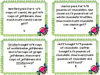 math worksheet : put your students to work solving the candy shop s adding and  : Addition And Subtraction Of Fractions Word Problems Worksheets